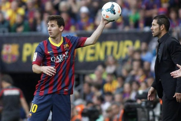 Simeone reveals Atletico Madrid never thought of signing Messi