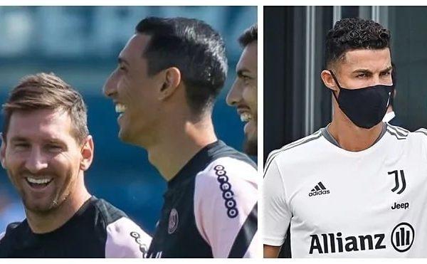 """Di Maria"" looks at ""Pe Do"", sedentary towards PSG"