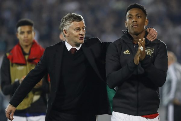 Solskjaer is confident Martial can remove the insults.