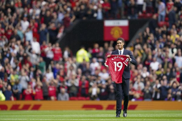 Varane made his debut with Manchester United