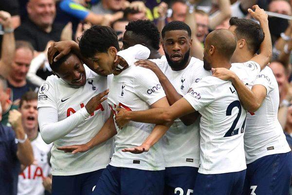 No Ken, no problem! Spurs defeated reigning champions Manchester City 1-0.